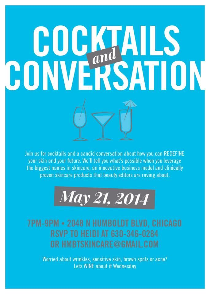 cocktails and conversation | Rodan + Fields = Business ...