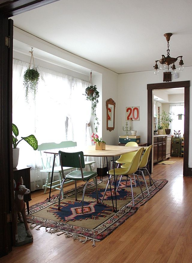 ADORED VINTAGE: 12 Hanging Plant Ideas | Vintage Inspired Decorating