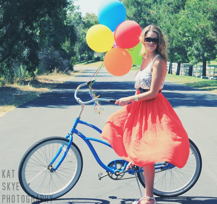 bike rides and balloons.