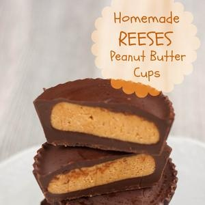 Homemade Reeses Peanut Butter Cups | Recipes | Pinterest