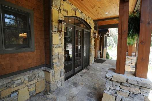Image detail for rustic style amicalola cottage feature for Garrell builders