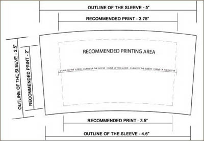 32 custom coffee sleeves one color favors pinterest. Black Bedroom Furniture Sets. Home Design Ideas