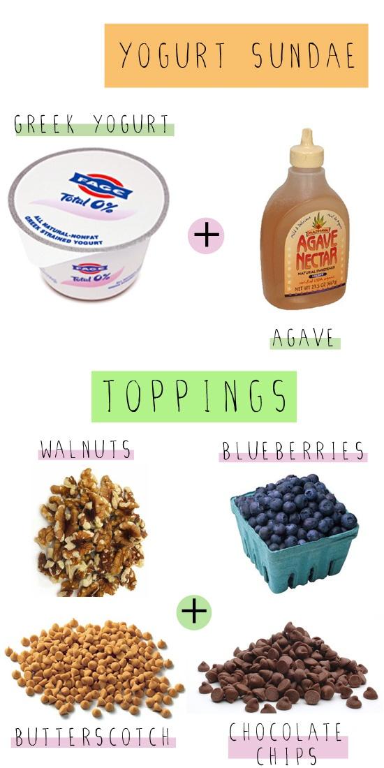 Yogurt Sundae???? A yogurt sundae sounds like a great way to have your ...