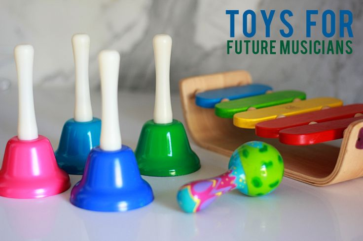6 Fun Toys for the Future Musician in Your House #playandgrow