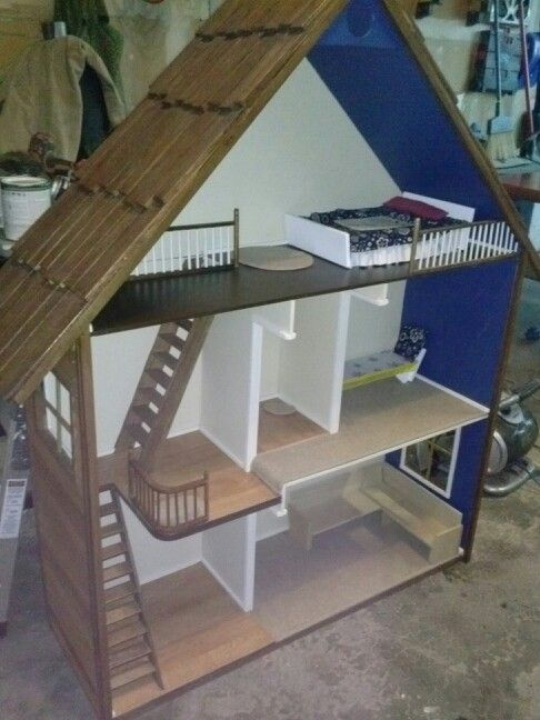 Home Made Barbie Doll House Barbie Stuff Pinterest