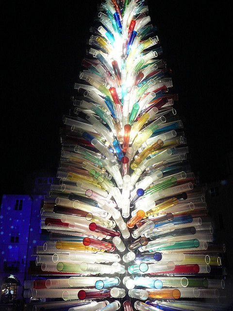 Glass christmas tree glass art pinterest - Murano glass christmas tree ...