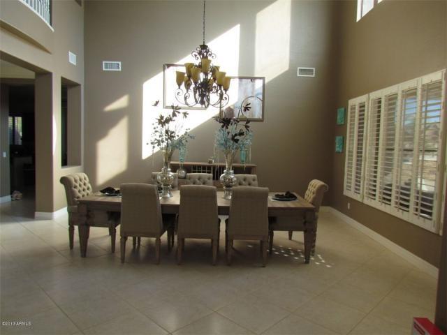 dining room set up home pinterest