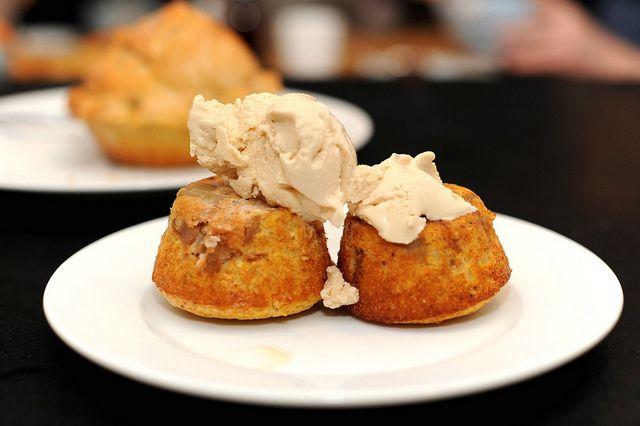 apple upside-down cornmeal cakes by sassyradish, via Flickr