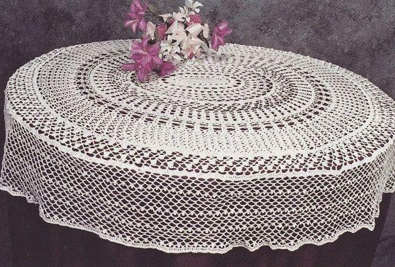 Tablecloth Crochet Patterns