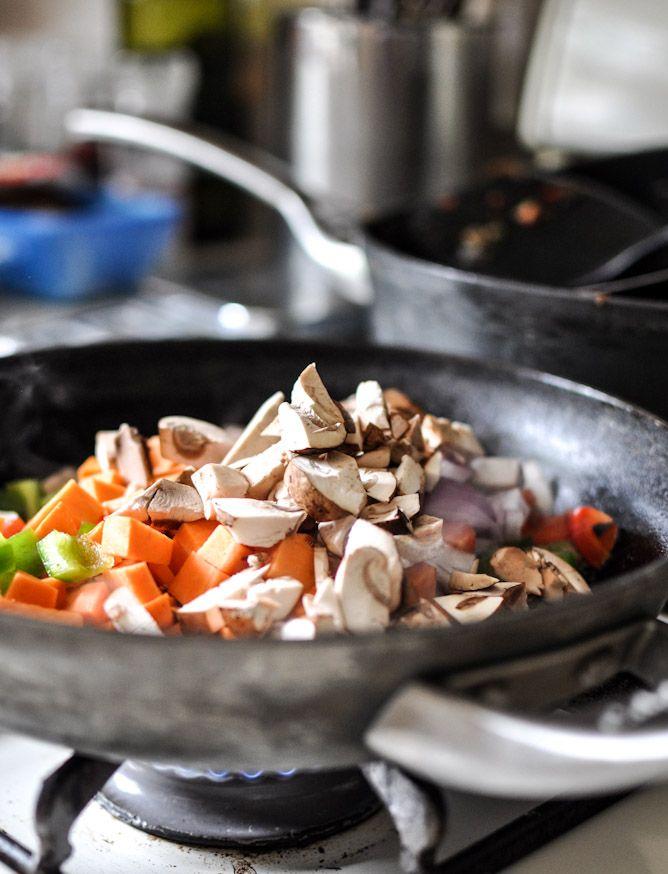 Mushroom And Bacon Breakfast Skillet Recipes — Dishmaps