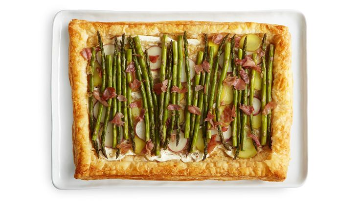 Asparagus and Parmesan Tart Recipe
