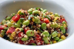 Quinoa/Edamame Salad!