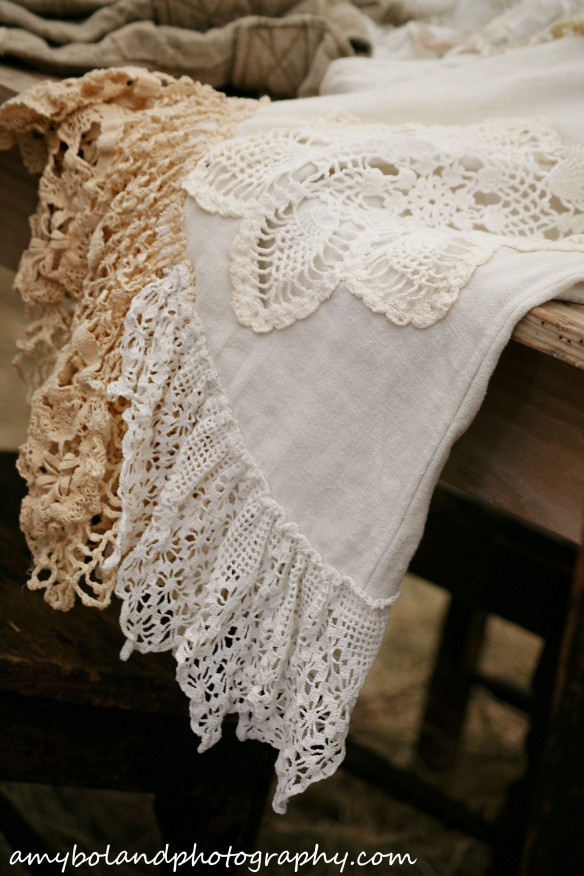 Vintage Lace and Doilies