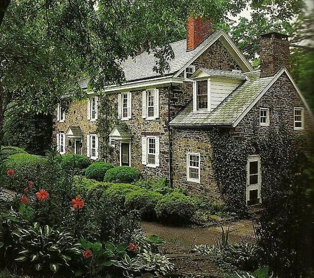 Beautiful Stone Home Home Pinterest