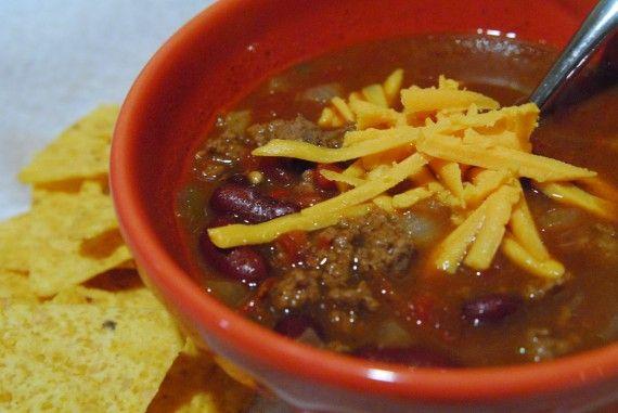 Beef & Bean Chili | Fabulous Fall Foods | Pinterest