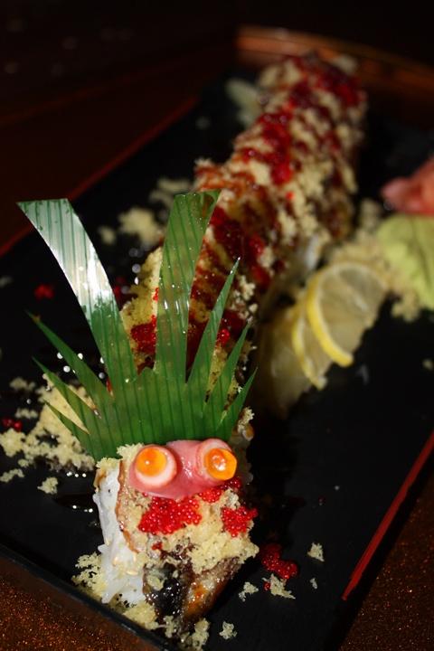 black dragon sushi recipe