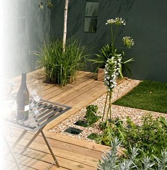 Terrasse zen deco jardin pinterest for Decoration jardin zen