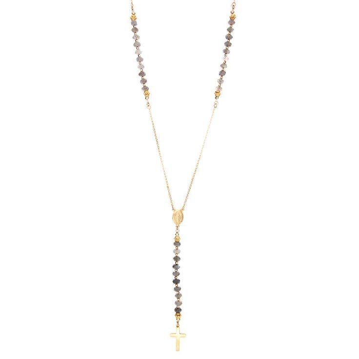 Yolanda Foster Rosary Necklace