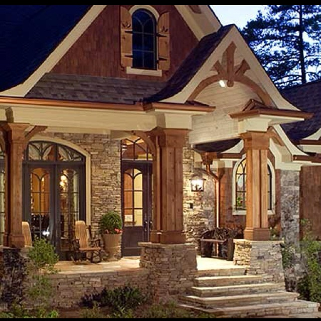 Love The Wood And Stone The Way I Tic Pinterest