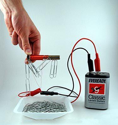 Как своими руками сделать электромагнит 61