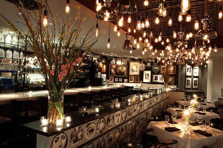 Dragonfly At Hotel Zaza Dallas Restaurant Design Lighting Pint