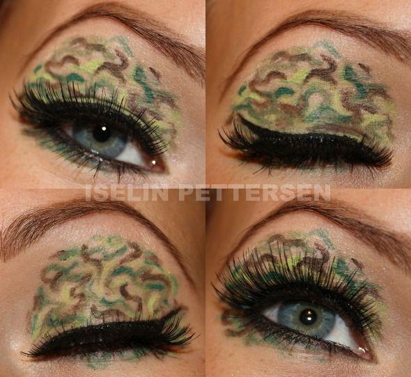 Makeup Looks Bareiselin Camouflage Style