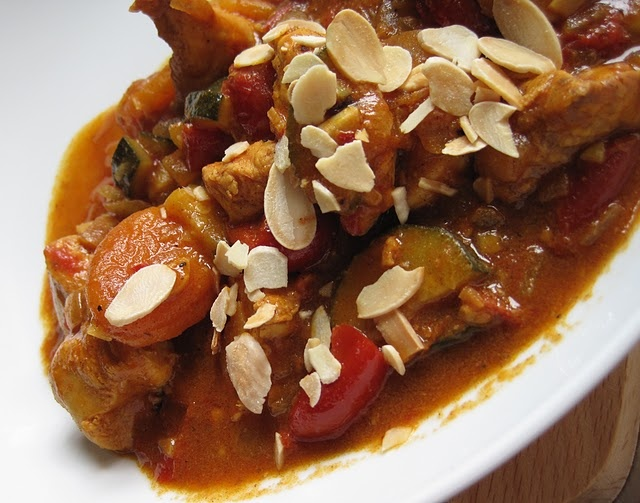 chicken and apricot tagine | foodsies | Pinterest