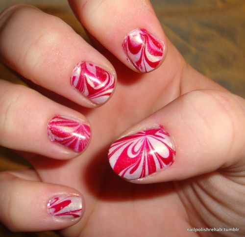 Marbled Nail Polish | Nails | Pinterest