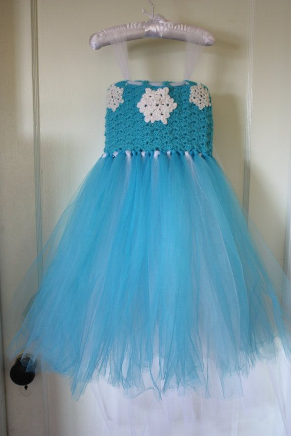 Crocheting A Frozen Dress Party Invitations Ideas