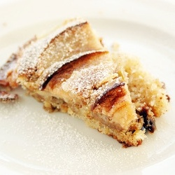 moist, nutty cake - Danish Apple and Prune Cake