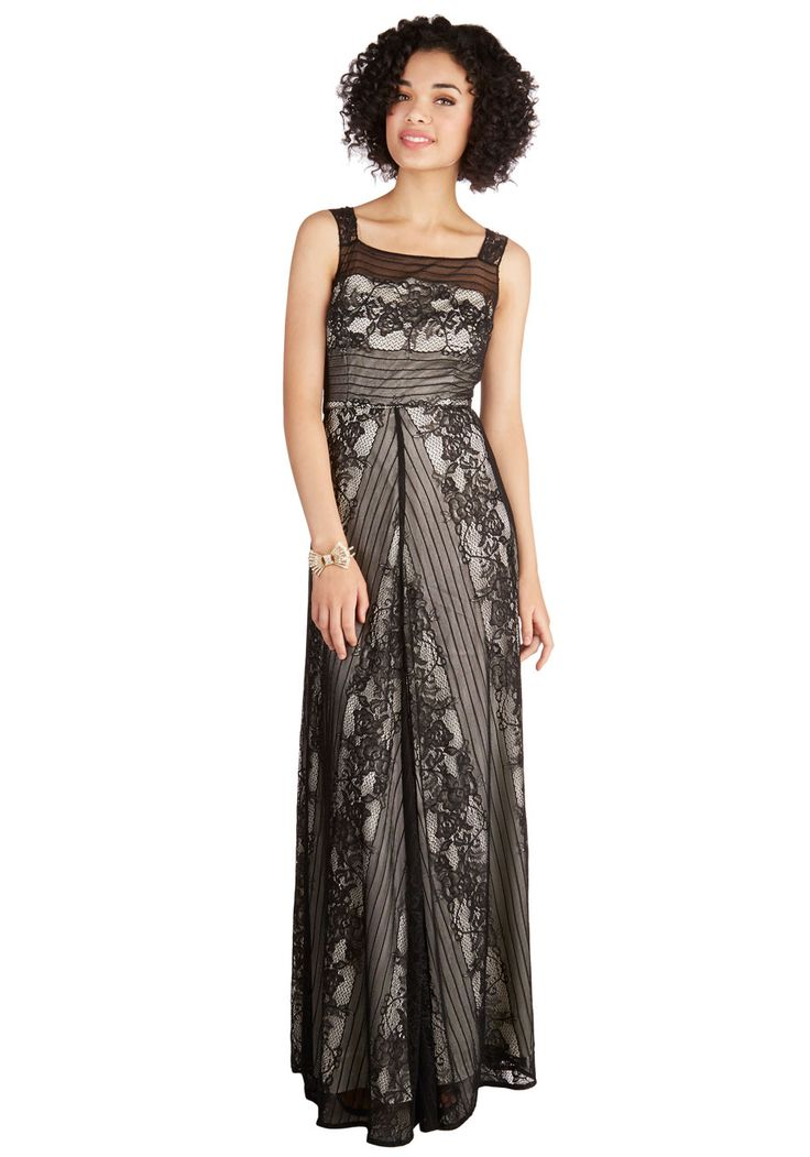 Tonights opulent party in this lace maxi dress black prom modcloth