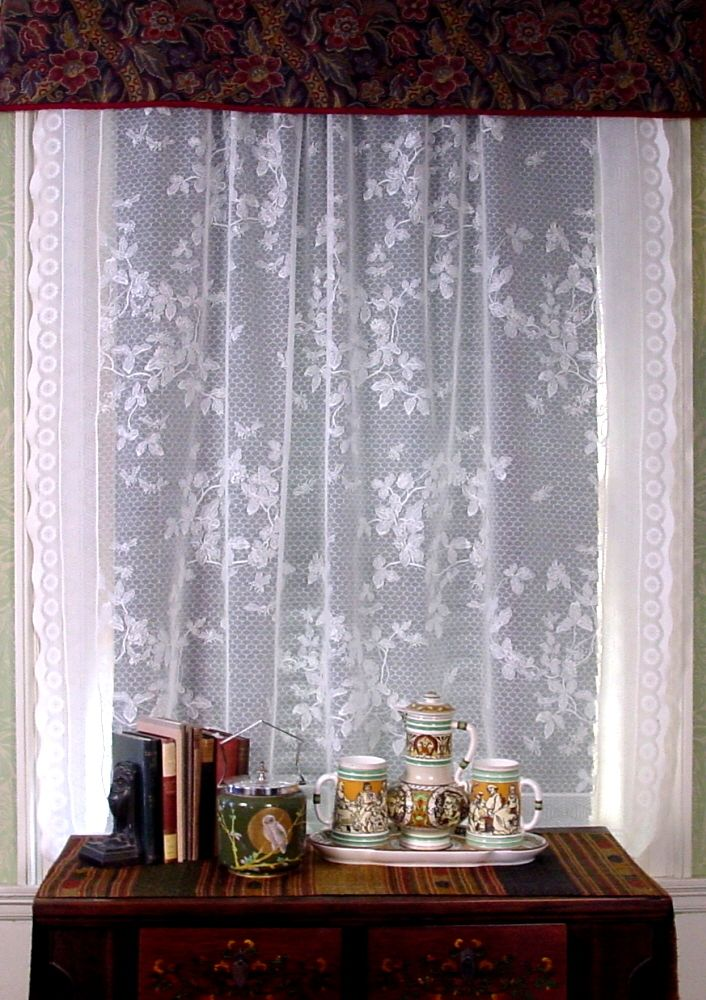White Lace Curtains Home Decorations Pinterest