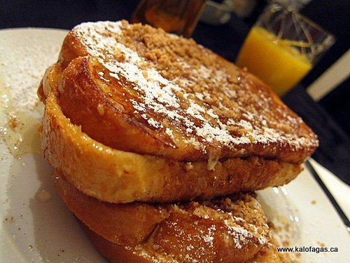 The Baklava French Toast | Greece is the Word | Pinterest