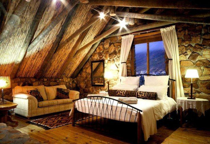 Log cabin romantic type of bedroom. | My New Home - Beautiful Bathroo…