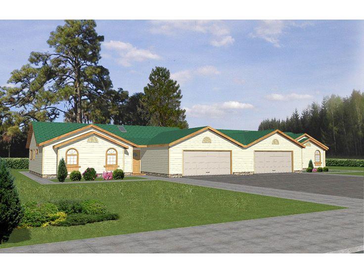 Matheson multi family home from houseplansandmore com