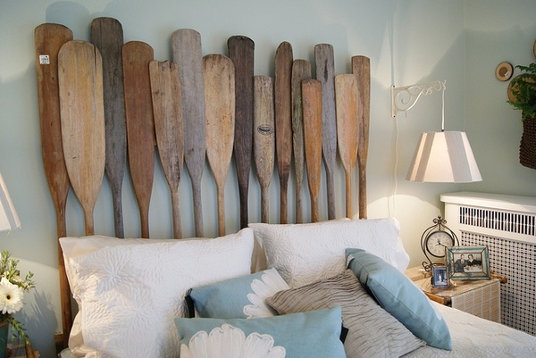 Pin by amie lawson on for the home pinterest for Beach house headboard ideas
