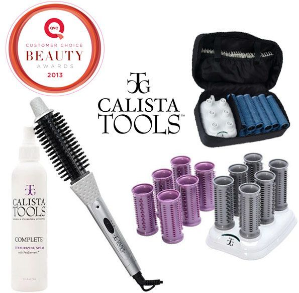 Calista Tools Perfecter Heated Round Brush Ion Hot Rollers #hotrollers