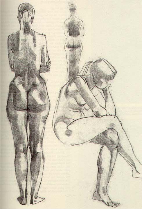 Рисование Обнаженной Фигуры