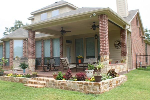 Small Covered Patio For The Home Pinterest