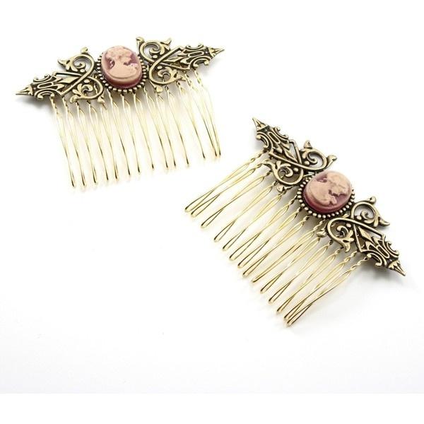victorian hair accessories ink amp illustration pinterest