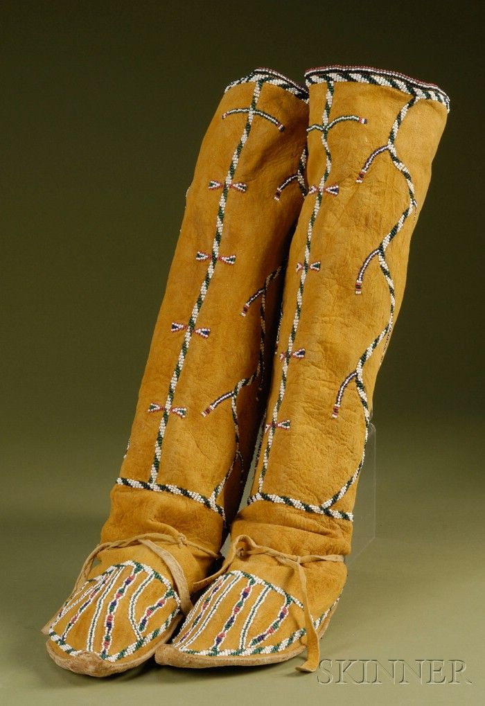 apache indian moccasins