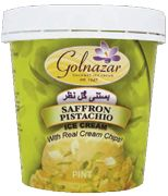 Locally made Golnazar Ice Cream products are all natural, egg and ...