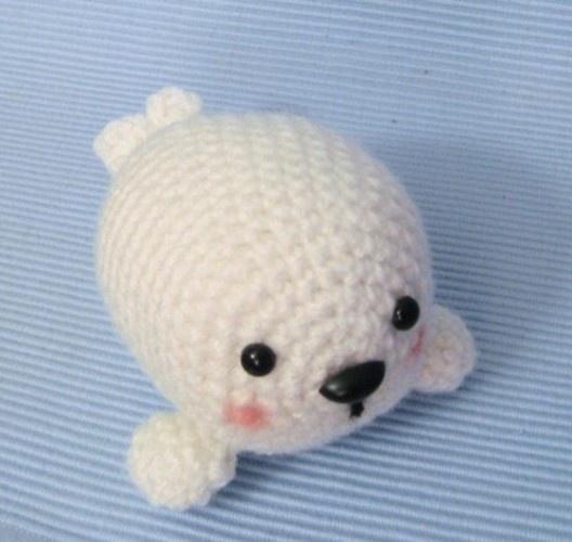 Crochet Amigurumi Seal : baby seal amigurumi crochet Pinterest