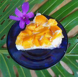 Mango Macadamia Nut Cream Pie | Sweets Treats and Desserts | Pinterest