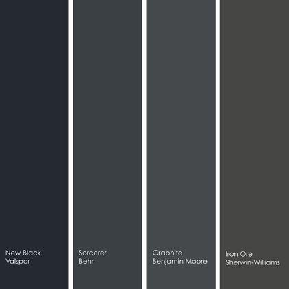 Black Paint Colors Paint Colors Pinterest