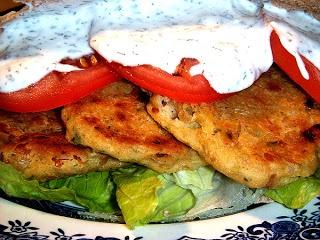 ... Cookbook: Crispy Chickpea Cake Pitas with Mint Yogurt Sauce Recipe