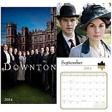 Official 2014 Downton Abbey Wall Calendar - Cannot forget to ask Santa