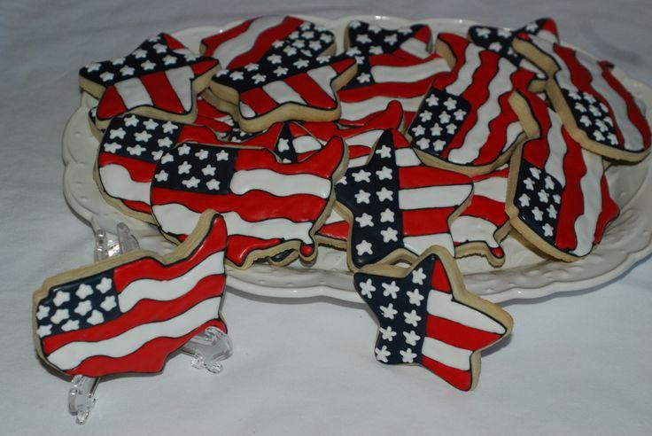 4th of july sugar cookies