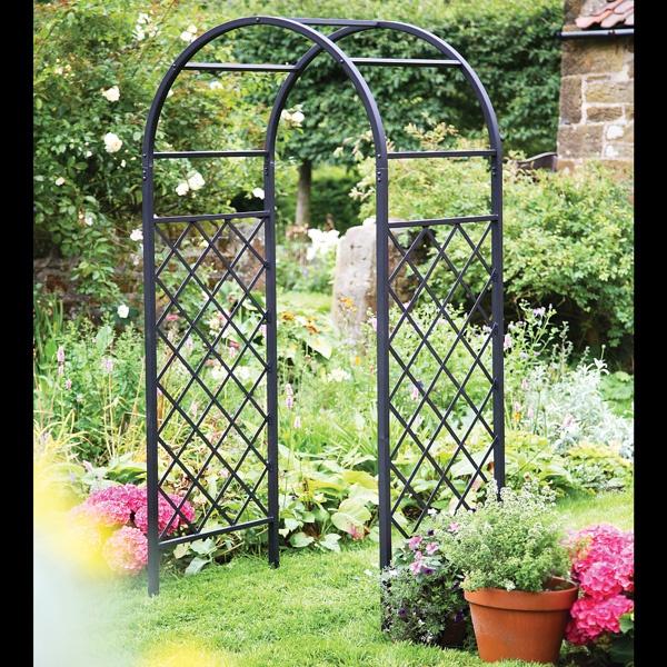 Garden arch collection outdoor landscaping buildings pinterest - Garden arches design ideas ...