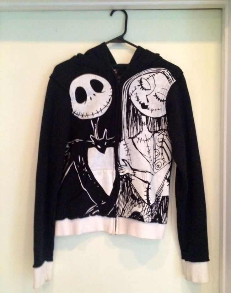Nightmare Before Christmas Sweater | Style Lookbook: Black & White ...